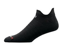 Drymax Hyper Thin Run No Show Double Tab Socks