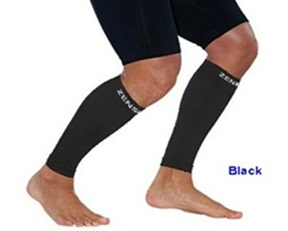 Zensah Leg Sleeves Black