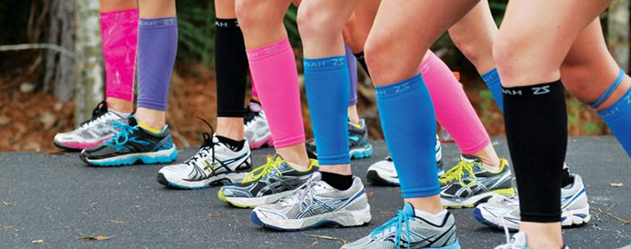 Colors of Zensah Leg Sleeves