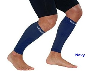 Zensah Leg Sleeves Navy