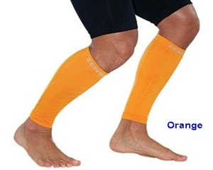 Zensah Leg Sleeves Orange
