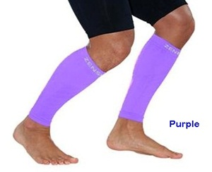 Zensah Leg Sleeves Purple