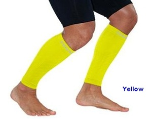 Zensah Leg Sleeves Yellow